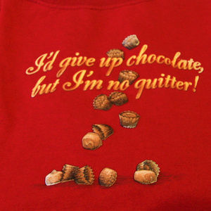 3 for 20$ I'm Not A Quitter T-shirt Red Medium T